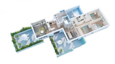 Appartement F4 - 112.95m²