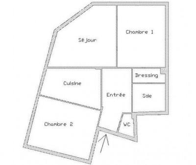 Asnières centre Mairie - 3 pièce (s) 59 m²