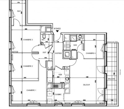 Superbe appartement 4 Pièces