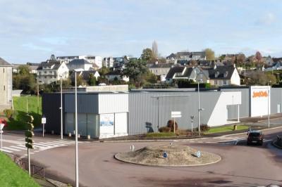 Bâtiment centre ville Coutances