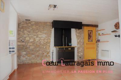 Maison de village auriac sur vendinelle - 5 pièce (s) - 100 m²