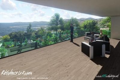 Appartement, VEFA, 90m², Vue mer