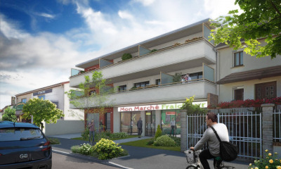 Local commercial neuf de 250 m²