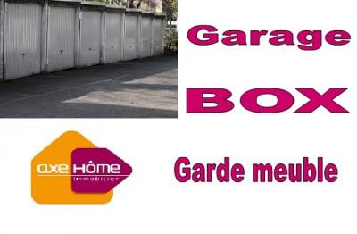 Garage ou box pour garde meuble centre ville Nantes