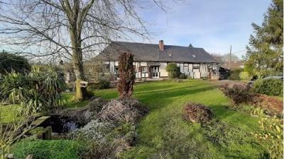 Maison normande située entre Aumale et Neufchâtel en Bray