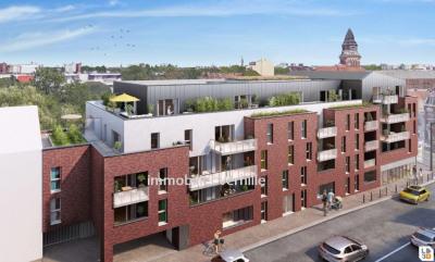 Appartement Ronchin 3 pièce(s) 58.69 m2