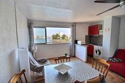 Saint-Cyprien, appartement vue sur la marina