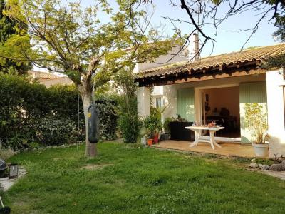 LES ANGLES- Maison 3 pièces de 76m² avec garage et jardin