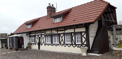 Longère 4 chambres garage terrasse terrain