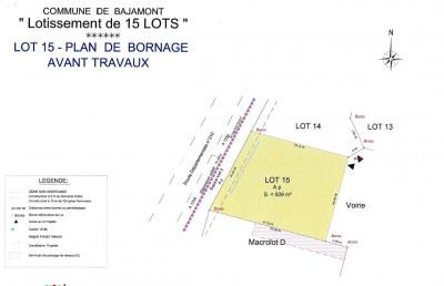 Terrain à bâtir - 508 m²