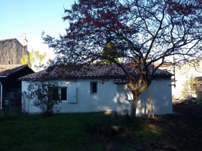 Maison individuelle de type 2 avec jardinet
