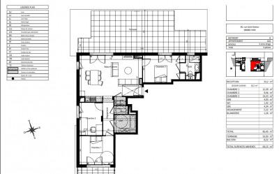 Vente de prestige appartement Lyon 8ème (69008)