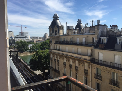 Location Appartement Paris Passy - 16 m²
