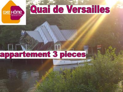 Nantes centre ville appartement T3 Quai de Versailles