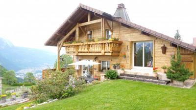 10 min station des carroz d'araches, chalet de 155 m²