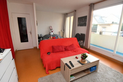 Appartement de type F1 (36 m²), cave et parking