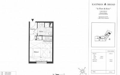 Appartement T1 avec parking