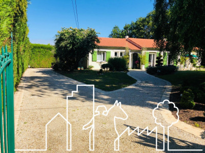 Propriété 1 hectare / maison 118 m² Sainte Cécile