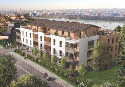 Appartement 2 pièces avec terrasse et garage - 44 m² - 69350