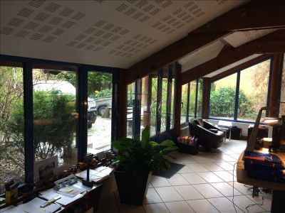 Appartement loft rez-de-jardin