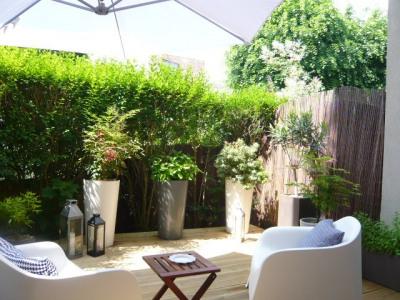 Appartement duplex avec jardin