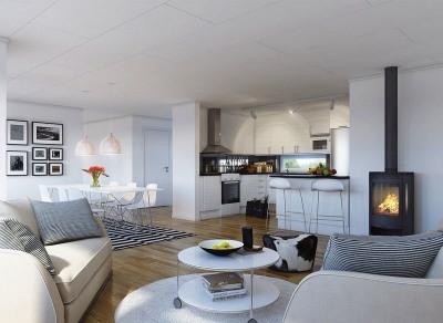 Appt 4 pièces 84m² + balcon 6,29m² - 93400 St OUEN SUR