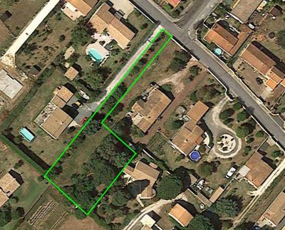 Terrain arvert 1470 m² - 500 m centre ville - quar