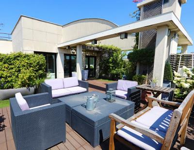 Montrouge Appartement terrasse 102 m²