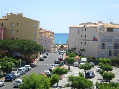 34300 Cap d'Agde -Studio meublé 26 m² - loggia-parking-cellier