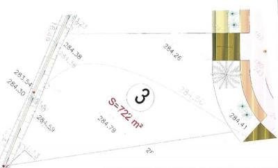 TERRAIN CONSTRUCTIBLE MORLAAS - 722 m2