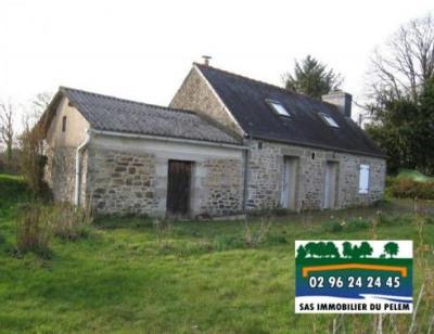 Maison bretonne callac de bretagne - 3 pièce (s) - 60 m²