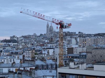 2 pièces avec Balcon & Vue Panoramique sur le Sacré-Coeur