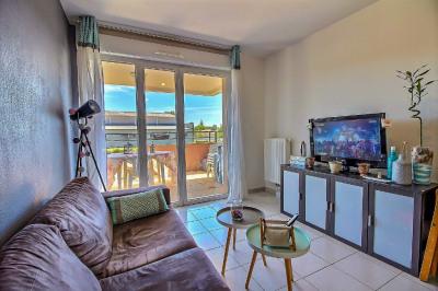 T2 39 m² en résidence récente avec terrasse et parking