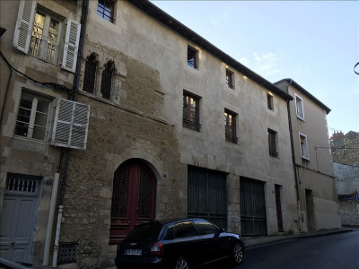 Maison T3 + garage + cour