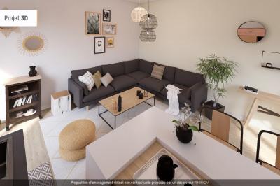 APPARTEMENT T1 de 37.50 m² à Villeneuve Loubet