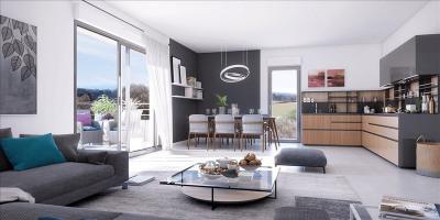 Appartement T2 aix en provence - 2 pièce (s) - 42.2 m²