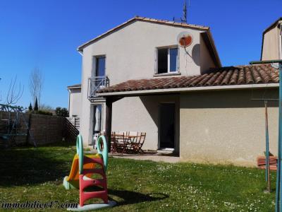 Maison d'habitation laugnac - 4 pièces - 93 m²
