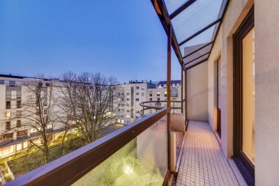 Vente appartement 4 pièces de 91,76 m² avec deux balcons, ga