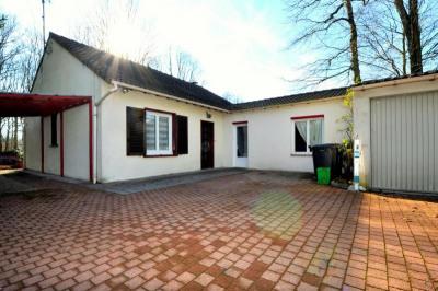 Maison 5 pièces (133m² au sol; 115m2>1,80m), garage, terrai