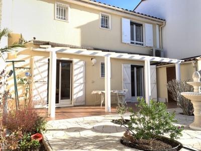 Villa avec 3 chambres et garage à CANET PLAGE