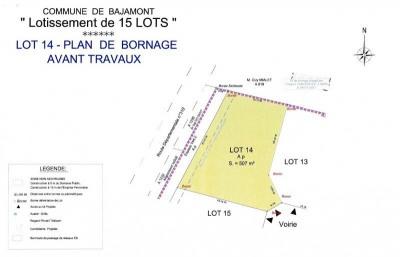 Terrain à bâtir - 510 m²