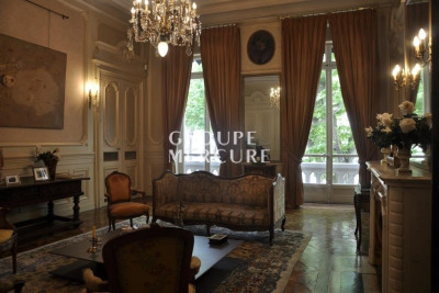 TO RENT HOTEL PARTICULIER LYON VIème In an old building of t