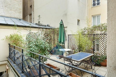Trois pièces + terrasse