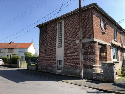 Maison semi-mitoyenne aulnoye aymeries - 6 pièce (s) - 107 m²