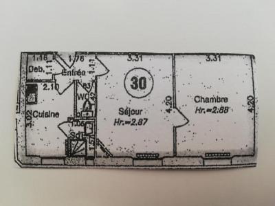 Appartement Paris 2 pièce (s) 39.6 m²
