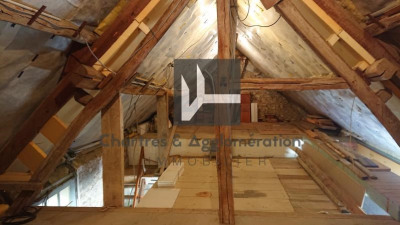 Longère le coudray - 4 pièce (s) - 80 m²