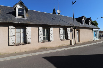 Saint georges sur eure - maison 160 m² + local commercial