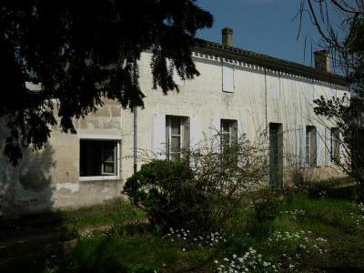 Maison girondine pierre