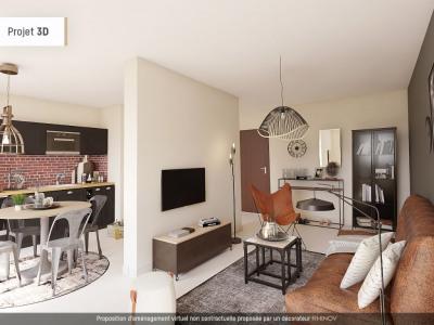 Appartement T1 - 33m² - VILLEURBANNE Gratte Ciel