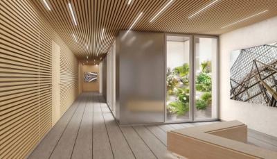 Appartement 3 pièces avec 84m² de jardin